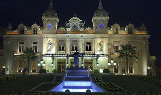 Spielcasino Monte-Carlo bei Nacht