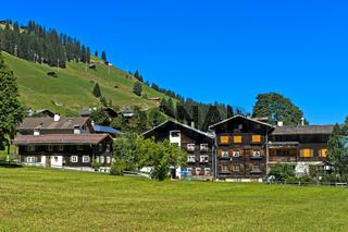 Safien Platz, Safiental, Surselva, Graubünden, Schweiz