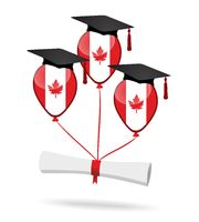 Flag of Canada and balloons - graduation party.jpg