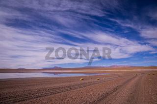 Reflections in altiplano, Bolivia