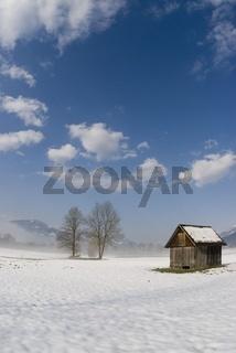 Winterlandschaft im Gesaeuse