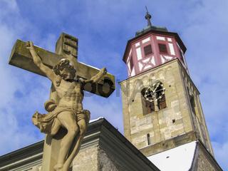 Jesuskreuz, St. Johannes Baptist, Schwaebisch Hall-Steinbach