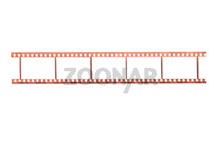 Photographic film with empty frames