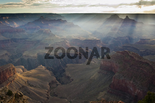 Sonnenaufgang/Sunrise Grand Canyon (Powell Point)