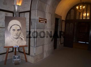 Selig gesprochene Bernadette von Lourdes