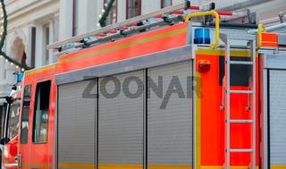 Feuerwehrfahrzeuge für den Feuereinsatz
