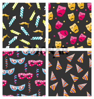 Collection Carnival Seamless Textures