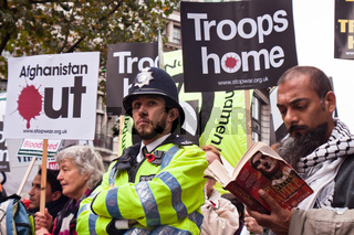 Demonstration - Bring the Troops Home