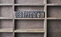 Wooden Letter Debt Problem