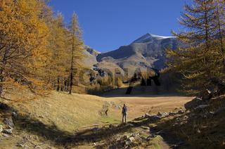 Herbstwanderung bei Allos
