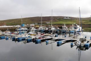 Skeld marina, West Mainland, Shetland, Scotland