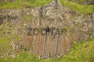 Basaltsaeulen am Giants Coastway