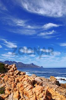 Küste nahe Kapstadt, Südafrika, the coastline near Cape Town, South Africa