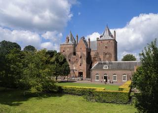 Castle Loevestein near Poederoijen
