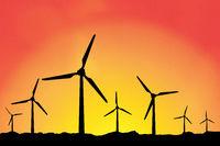 Konzept für WIndkraft und Solarenergie