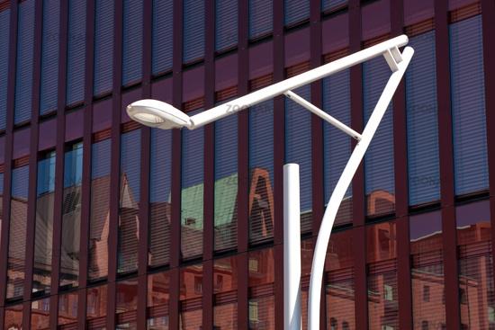 Glass Facade. Hamburg