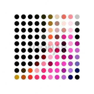 Abstract powerful dot background pattern