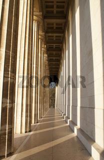 Walhalla, Walhalla temple, Panthenon