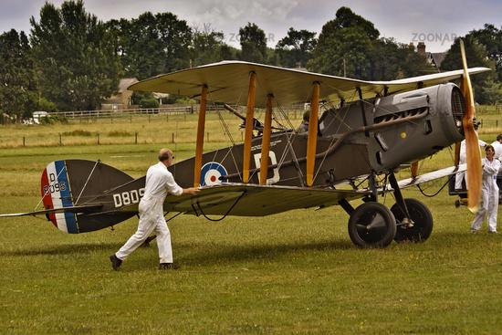 UK Shuttleworth Preparing A Bristol F2B For Flight