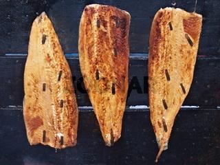 Räucherlachs - Smoked salmon