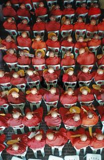 buddistische Mönche, Myanmar