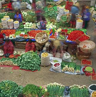 Markt, Chichicastenango, Guatemala