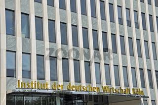 im August 2009 vom Kölner Süden in die Innenstadt umgezogen: Institut der deutschen Wirtschaft (Wirtschaftsforschunginstitut)