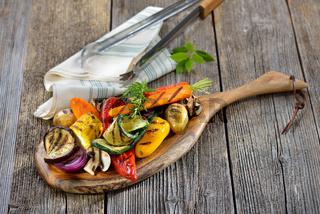 Gemüse vom Grilll