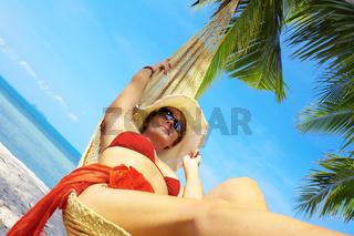hammock and tropic