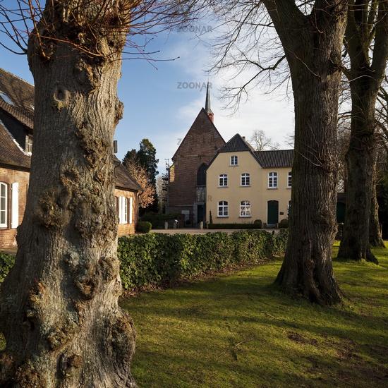 Klosterkirche Marienthal, Hamminkeln, Lower Rhine, North Rhine-Westphalia, Germany, Europe