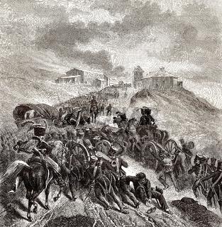 The Battle of Somosierra, November 30, 1808, Peninsular War