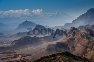 Mountain near Yazd in Iran