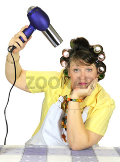 Drying Hair Housewife