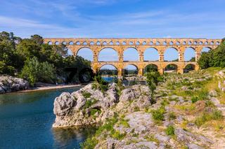 The bridge was built in Roman times