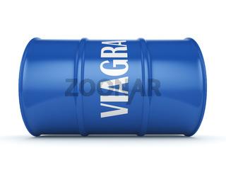 Viagra Blue Barrel
