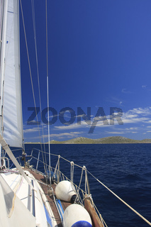 Segeln in den Kornaten | Sailing in the Kornati