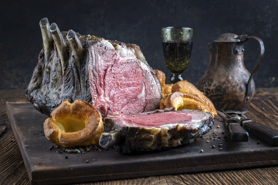 Barbecued Cote de Boeuf with