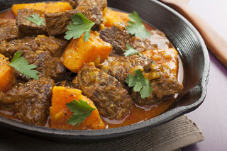Stew Beef Tagine with Sweet Potato