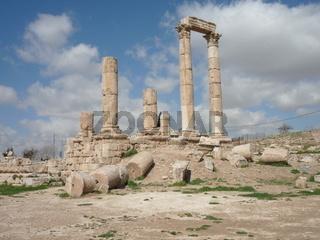 Herkules Tempel, Amman, Jordanien, Arabien
