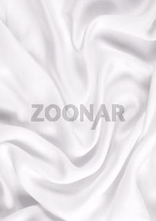 Smooth elegant white silk