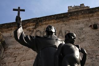 Statue des Fray Junípero Serra in Havanna