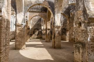 Ancient Arabic Building Interior Necropolis of Cellah Rabat Morocco