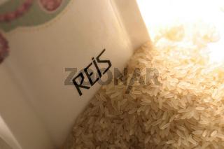 Reis in Porzellan - rice in porcelain