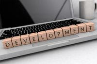 Development text concept