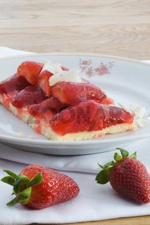 Erdbeeren und Törtchen