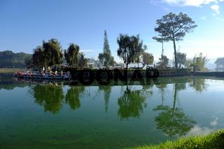 duck boats, swan boat, outdoor sport  activity