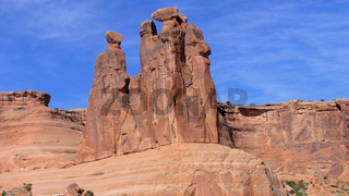 Parade of Elephante, Arches National Park, Utah, USA