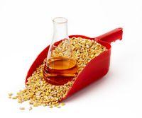 Corn-based ethanol still life
