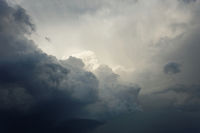 Thunderclouds over Frankfurt/Main