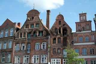 Historische Architektur in Lüneburg
